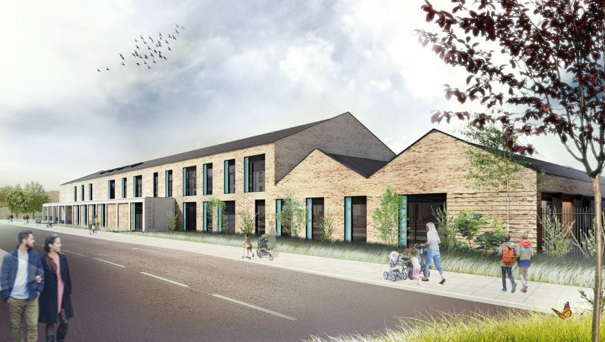 Artists' impression of the new Victoria Primary School