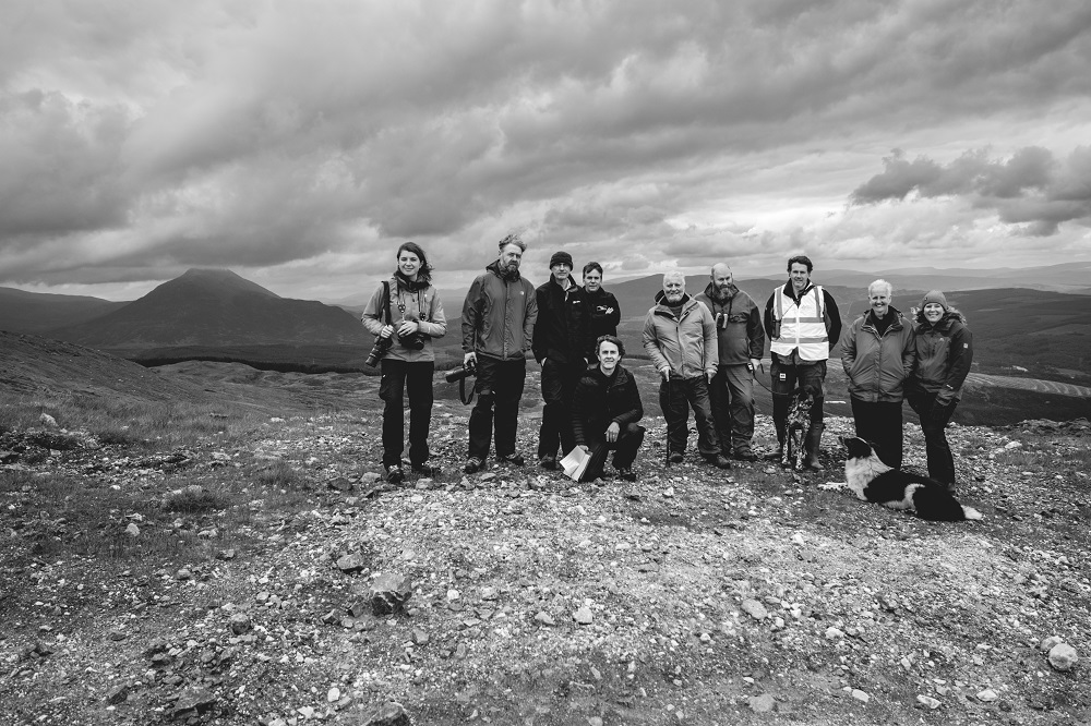 Photo by Sam Diarmid of group of collaborators taking part in pilot of Days of Access.