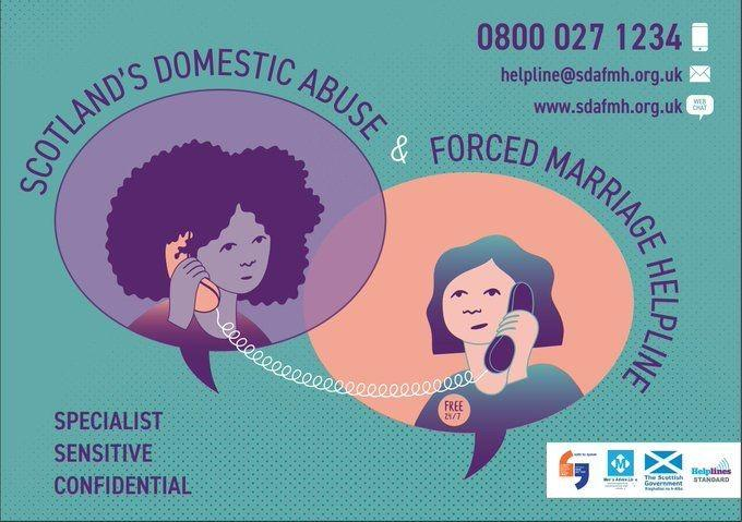 Scotland s domestic abuse and forced marriage helpline