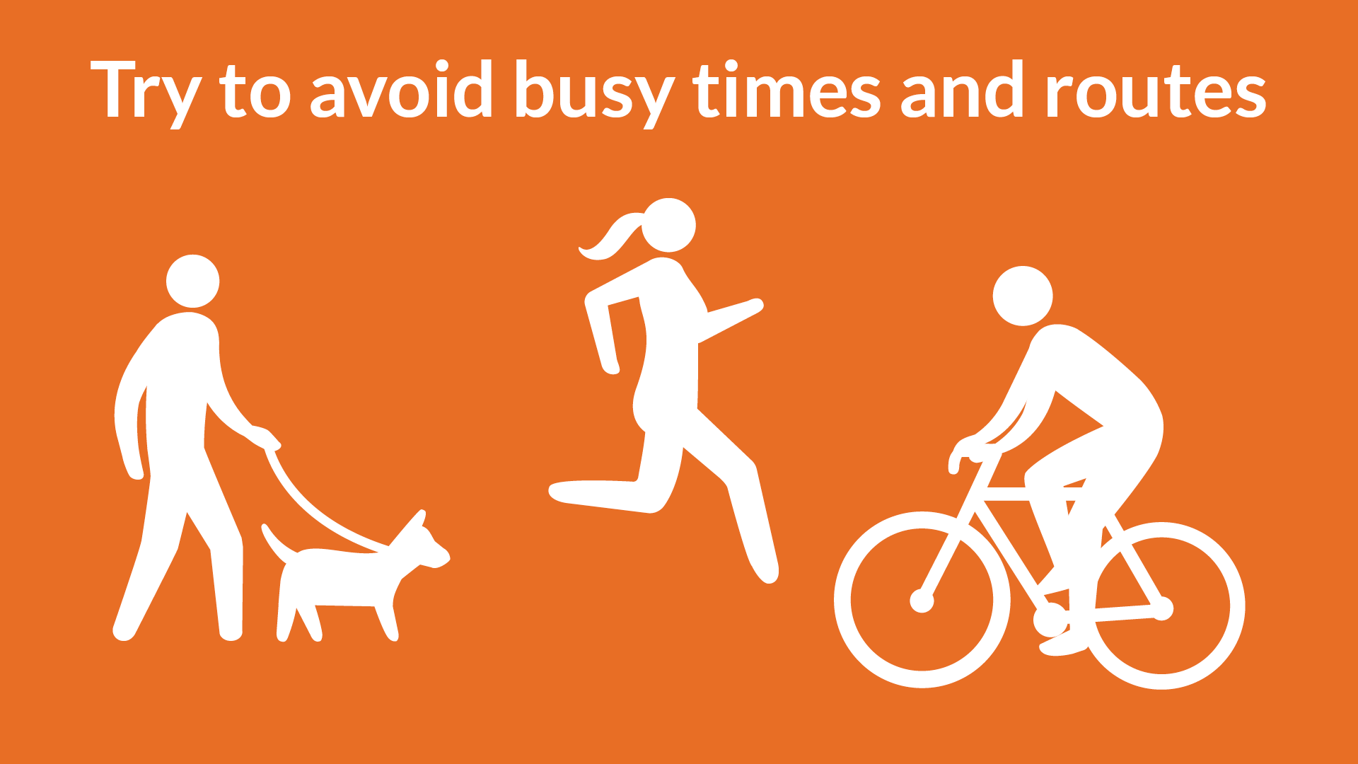 Avoid busy times graphic