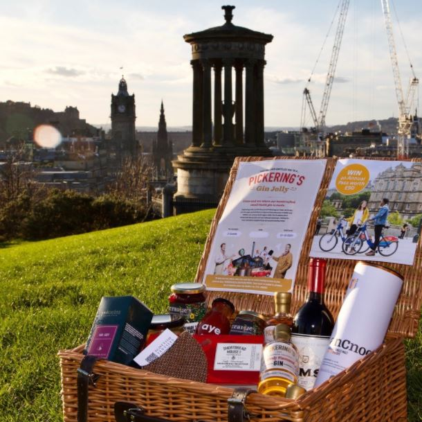 The hamper that could be won as part of the campaign